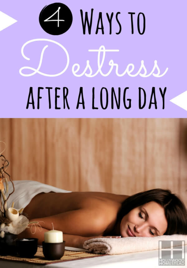 4 Ways to Destress after a long day Vertical WM
