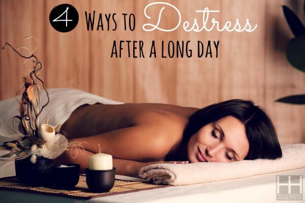 4 Ways to De-Stress After a Long Day
