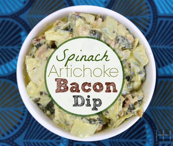 artichoke bacon dip
