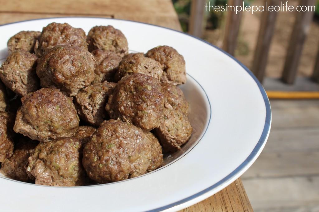 Chimichurri meatballs 3