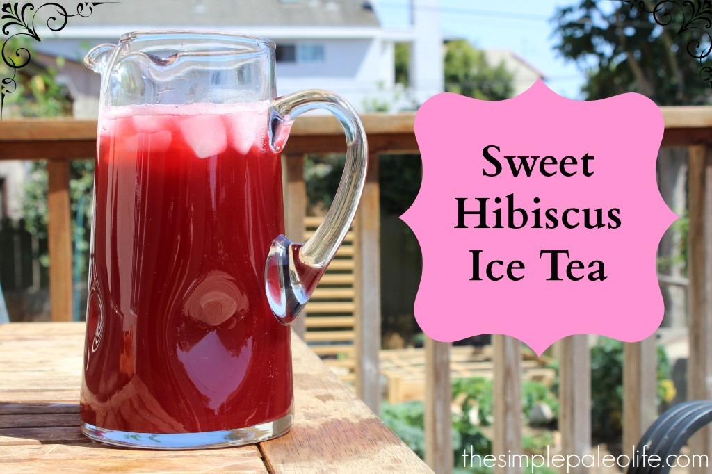 Hibiscus Tea Sorbet Recipe — Dishmaps