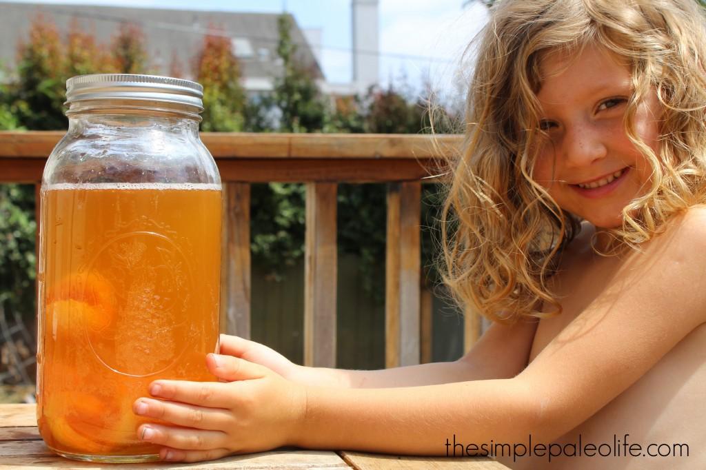 apricot kombucha 2