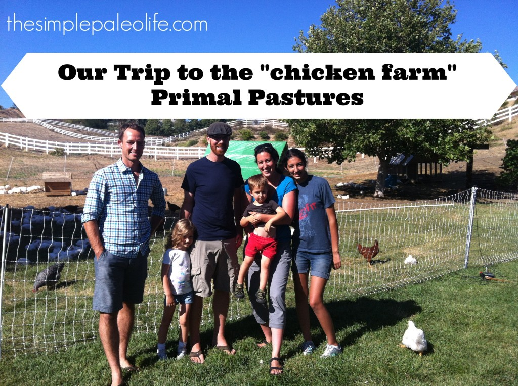 chicken farm tour