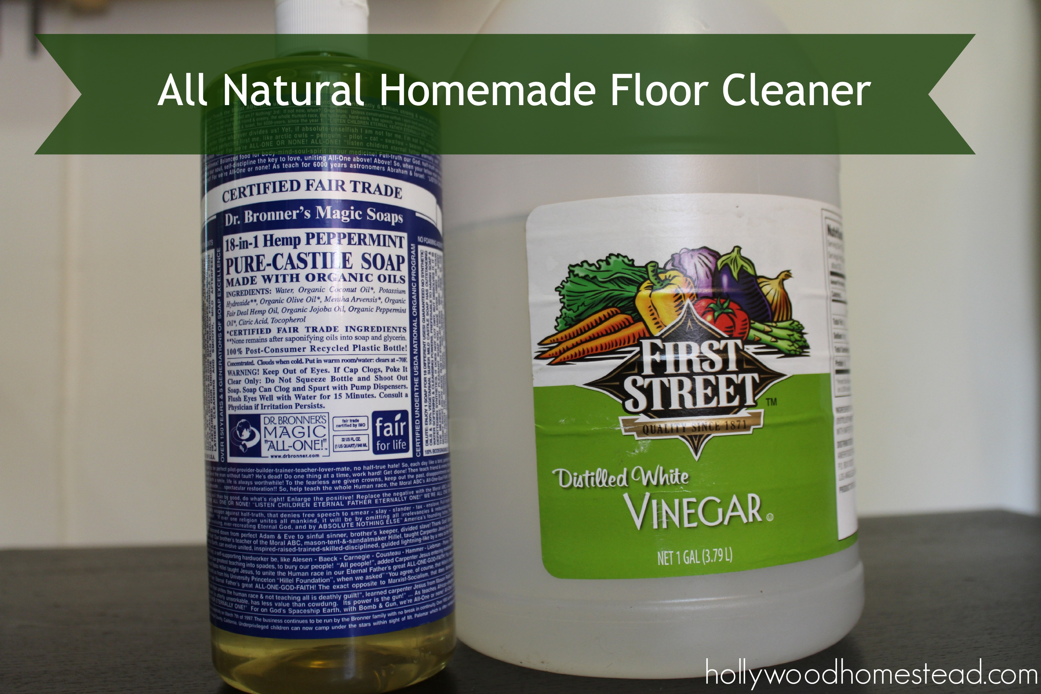 All Natural Homemade Floor Cleaner Hollywood Homestead