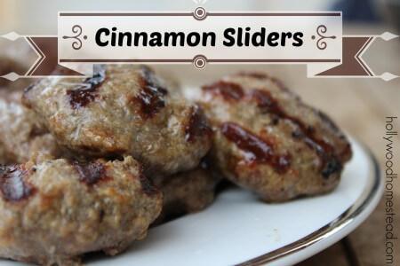 Cinnamon Sliders