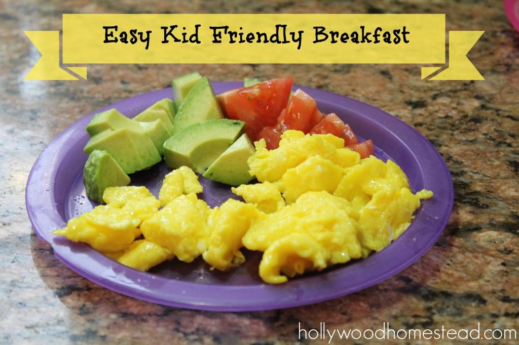 kid friendly paleo breakfast