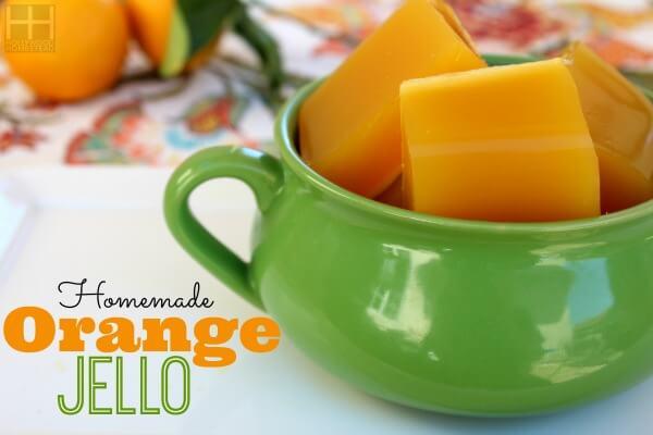 Orange Jello