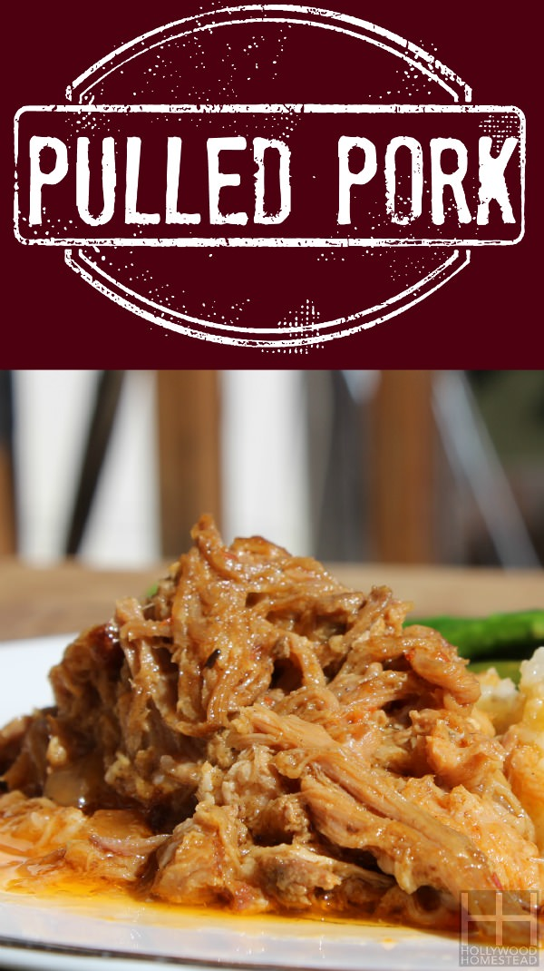 Pulled Pork Vertical