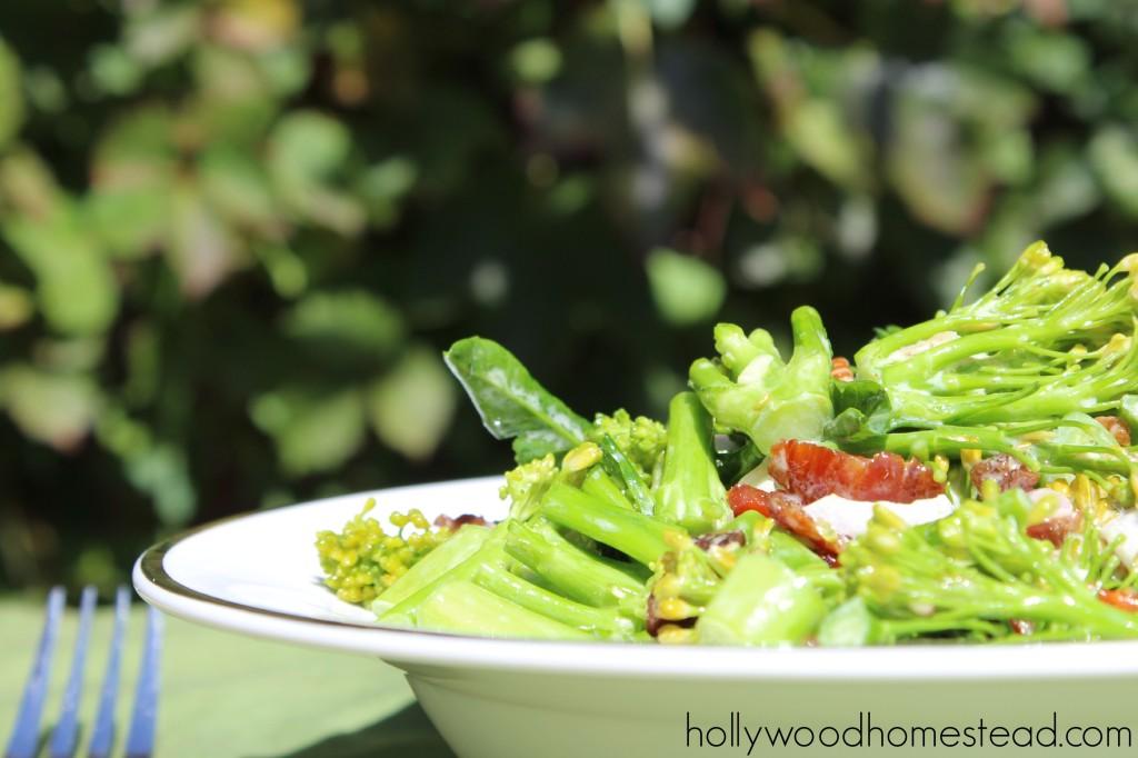 Baby Broccoli Salad