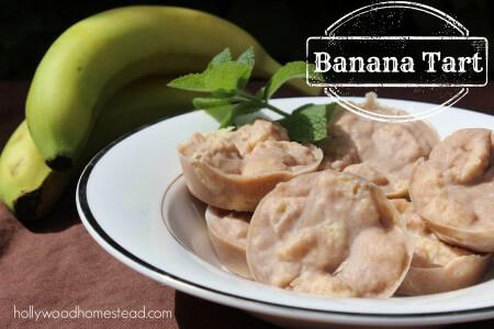Banana Tarts