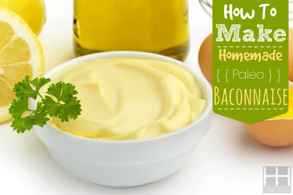 close up of a bowl of mayonnaise and ingredients
