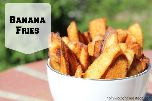 banana fries