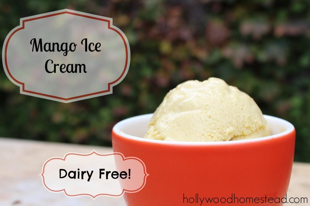 paleo mango ice cream