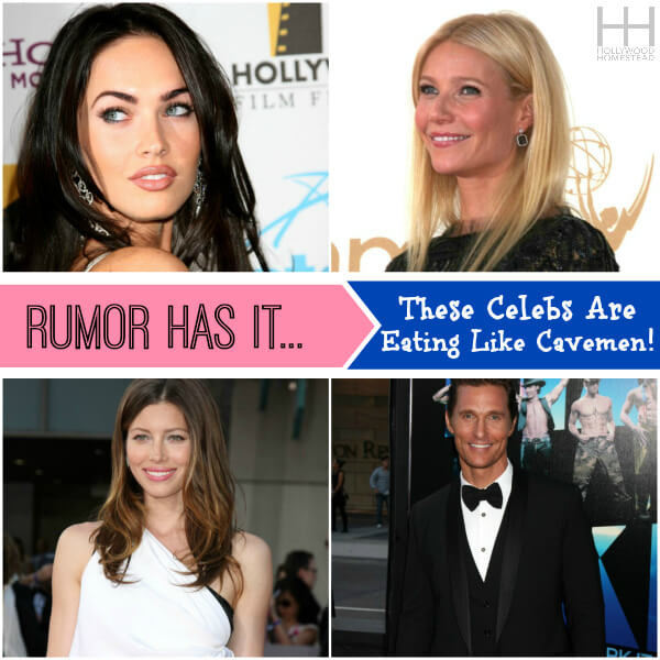 celebrities eating paleo