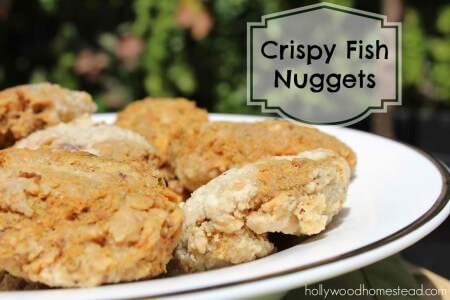 paleo fish nuggets for kids