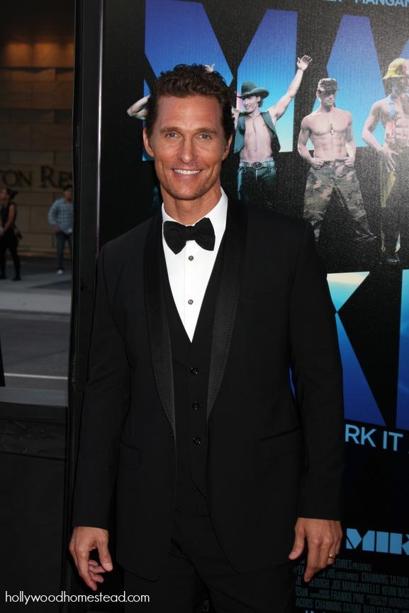 Matthew McConaughey paleo diet