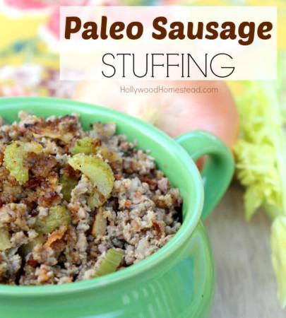 Paleo Sausage Stuffing