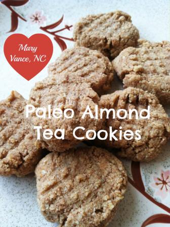 Paleo Almond Tea Cookies