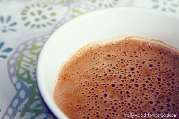 dairy free paleo hot chocolate