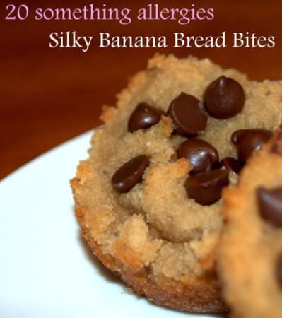 Silky Banana Bread Bites