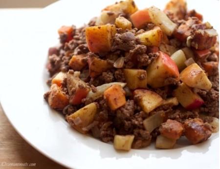 Sweet Potato, Apple & Fennel Hash