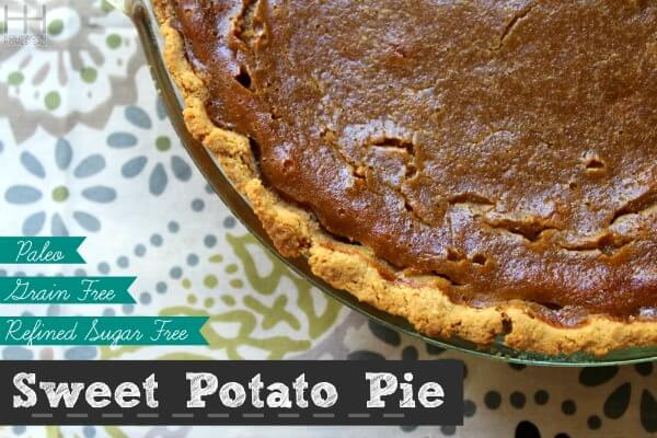 Paleo Sweet Potato Pie - Hollywood Homestead