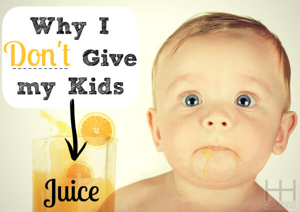 is juice bad for kids