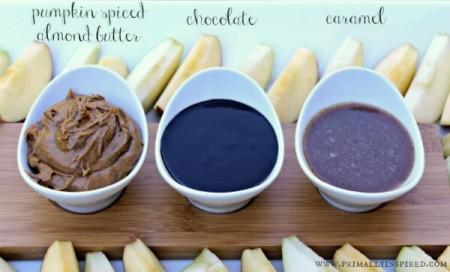 Easy Homemade Apple Dips (Paleo, Gluten Free, Healthy)