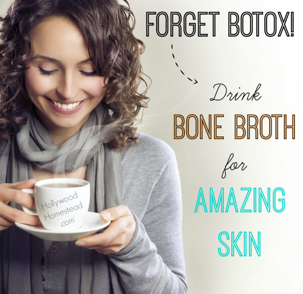 bone broth for amazing skin