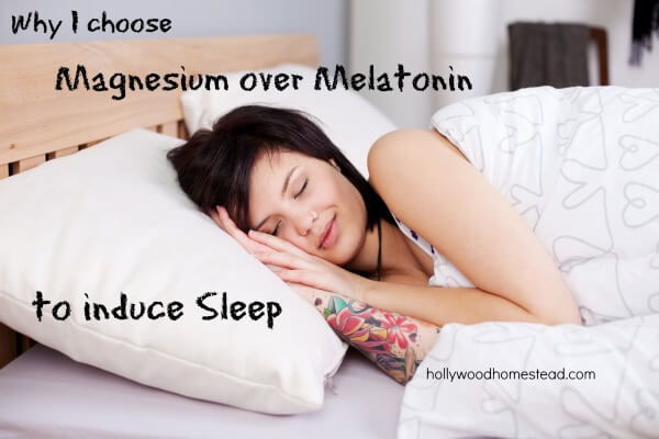 why i choose magnesium over melatonin