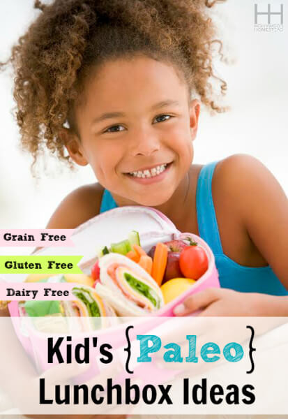 Kids Paleo Lunchbox Ideas