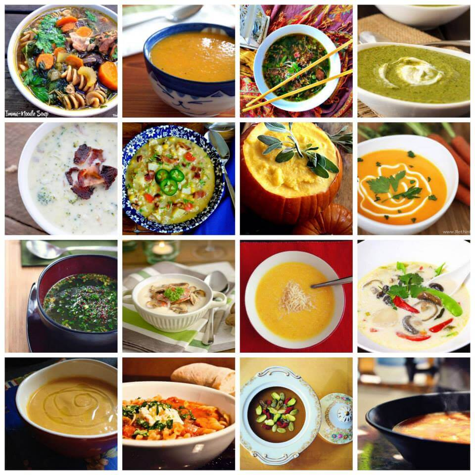 real foods winter soups
