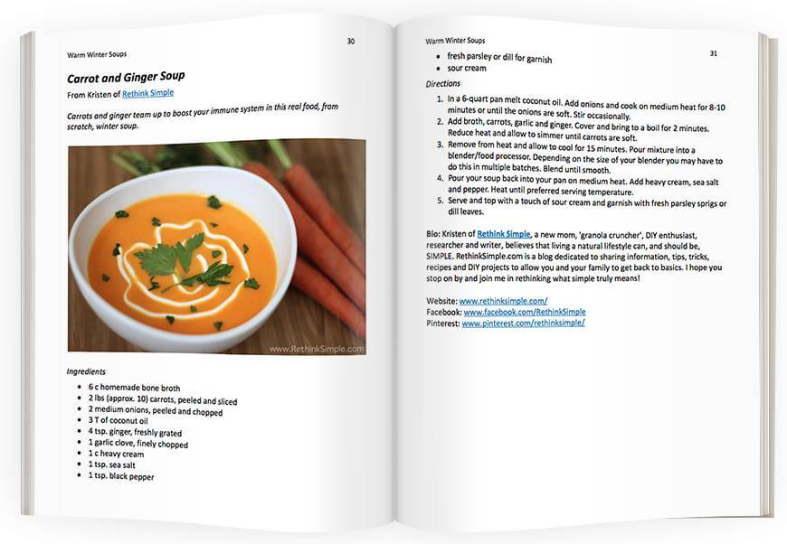 real foods winter soups ebook