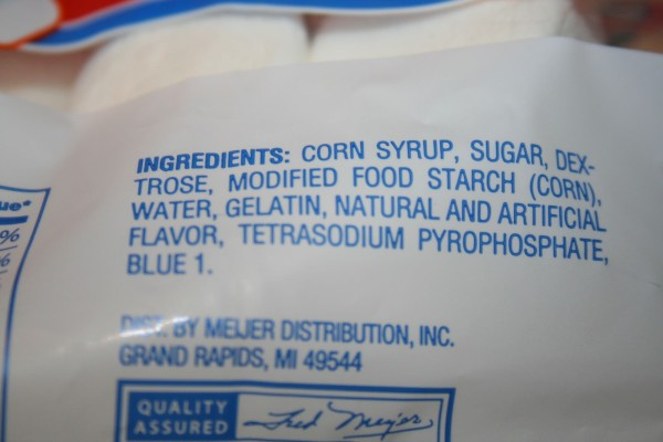 kraft marshmallow ingredients