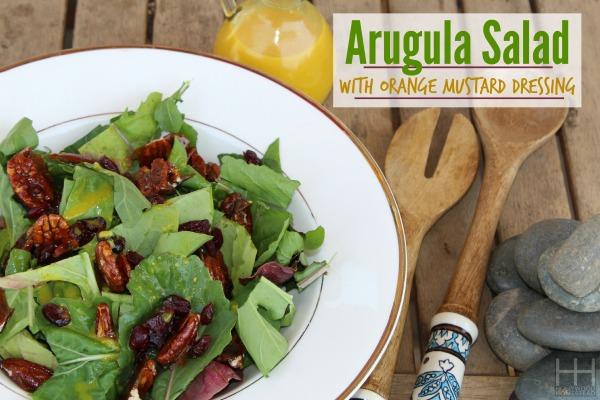 Arugula salad w_orange mustard dressing 2 WM