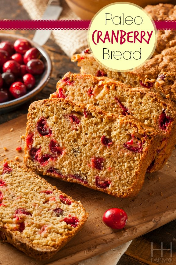 Cinnamon Cranberry Bread - Hollywood Homestead
