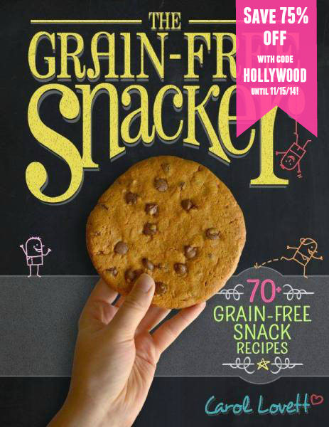 The Grain-Free Snacker (stop eating terrible snacks!)