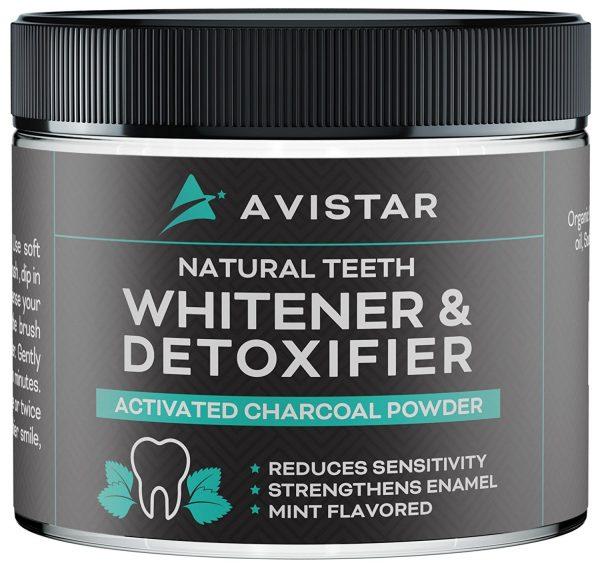 Avistar Natural Teeth Whitener and Detoxifier