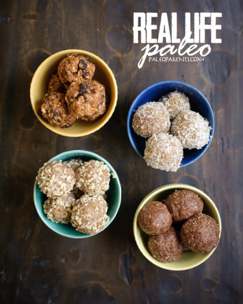 Snack Balls from Real Life Paleo by Paleo Parents