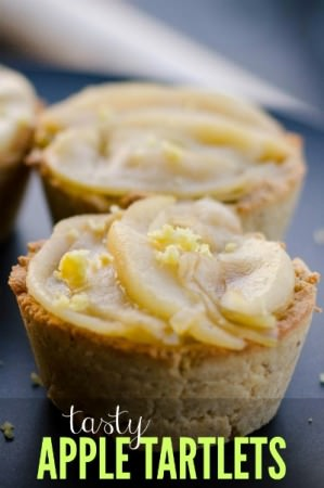 Tasty Apple Tartlets Recipe from Essential Paleo Cookbook - Hollywood Homestead