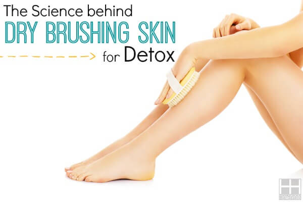The Science behind Dry Brushing Skin for Detox - Hollywood Homestead