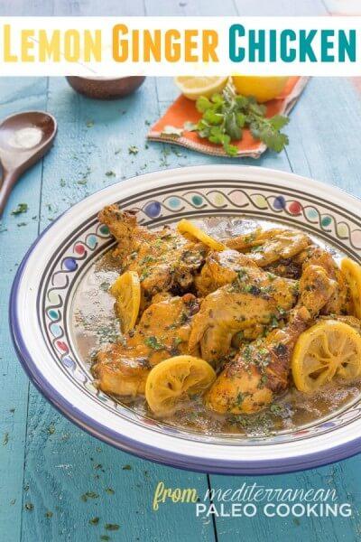 Paleo Lemon Ginger Chicken Tajine Recipe – Plus Cookbook Giveaway