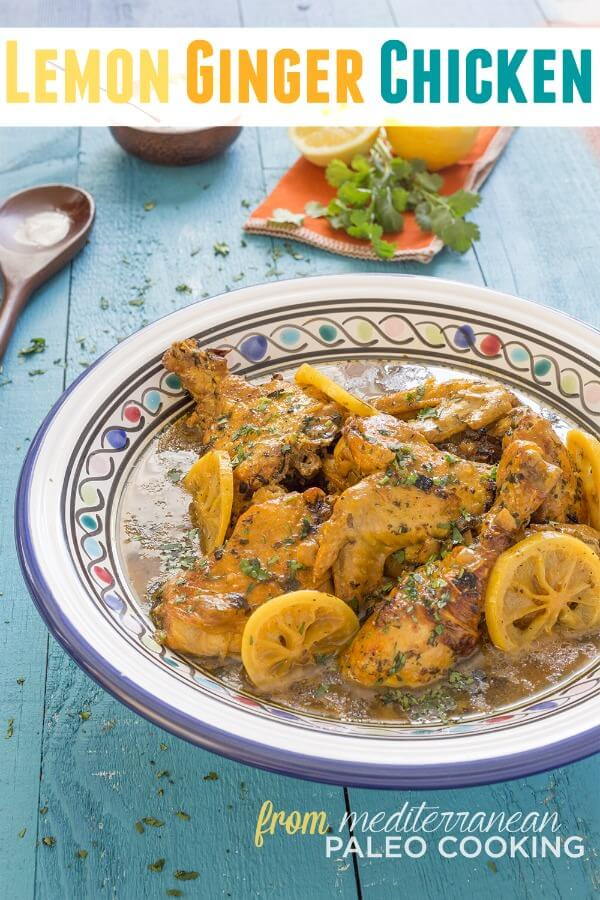 Paleo Lemon Ginger Chicken Tajine Recipe – Plus Cookbook Giveaway - Hollywood Homestead