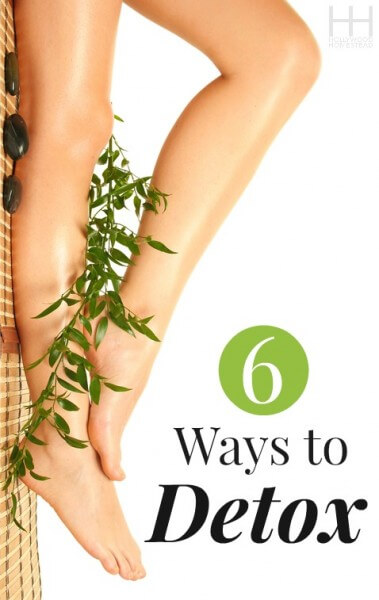6 Ways to Detox - Hollywood Homestead