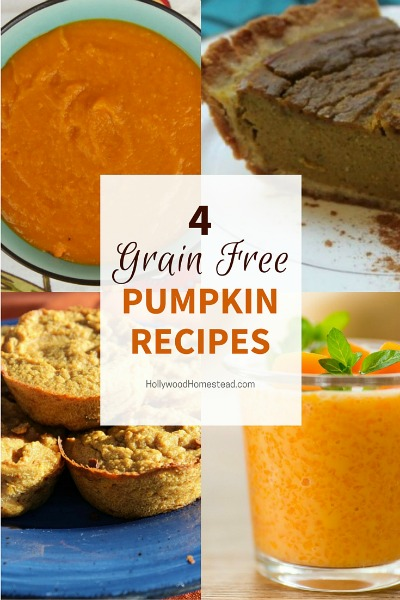 The Best Grain-Free Pumpkin Recipes for Fall - Hollywood Homestead