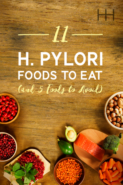 What Foods Are Good For H Pylori
